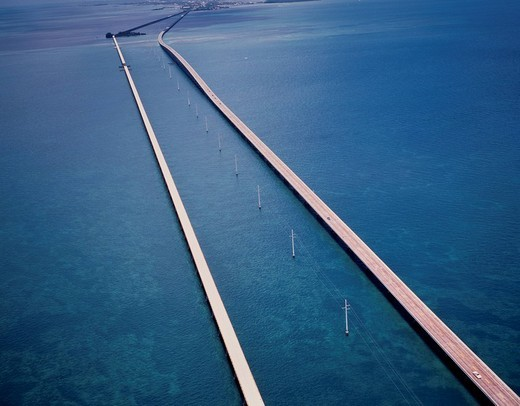 7mile bridge, Key West, Miami, United States of America : Stock Photo
