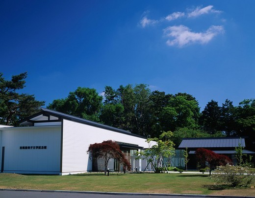 Tomiko Miyao literary memorial hall, Date, Hokkaido, Japan : Stock Photo