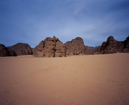 Desert, Tassili n´Ajjer, Algeria, World Heritage : Stock Photo