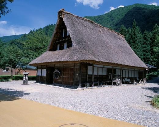 Suganuma Gokayama folkcraft museum Kamitaira Toyama Japan : Stock Photo