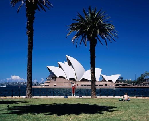Opera House from Daws point, Sydney, Australia : Stock Photo