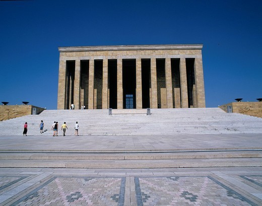 Mausoleum of Ataturk, Ankara, Turkey : Stock Photo