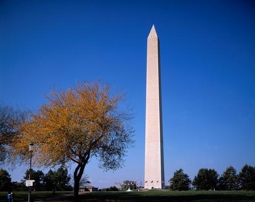 Washington Monument, Washington DC, United States of America : Stock Photo
