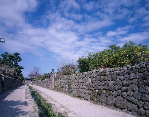 Stock Photo: 4034-61299 Shimabara Samurai Residence Shimabara Nagasaki Japan