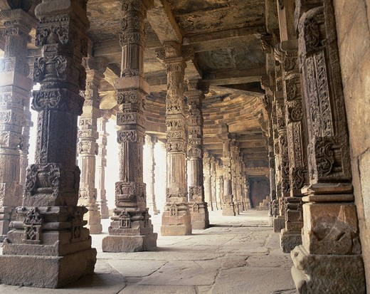 Qutb Minar Delhi India World Heritage : Stock Photo