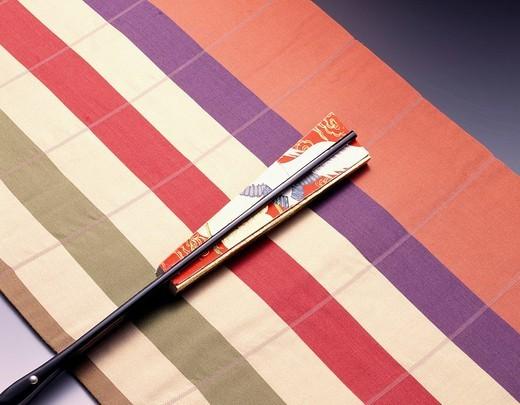 Concept Belt Fan Japan : Stock Photo
