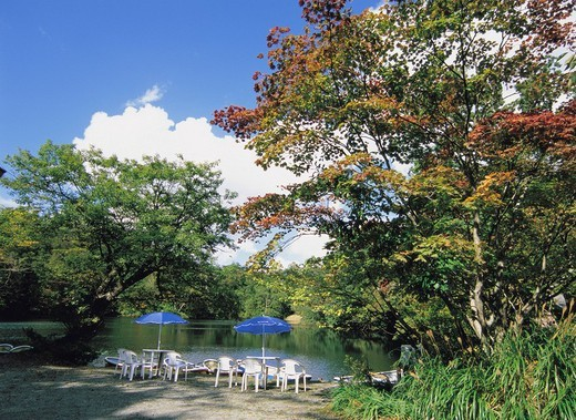 12 lakes, Fukaura, Aomori, Japan : Stock Photo