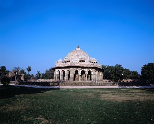 Humayun mausoleum, Isacarn grave, Delhi, India, World Heritage : Stock Photo