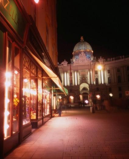 Stock Photo: 4034-66784 Kohlmarkt King´s palace Vienna Austria