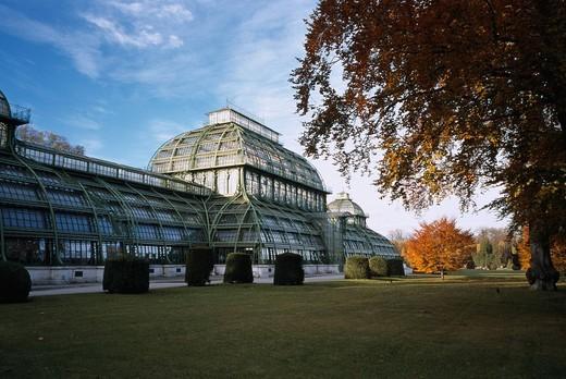 Stock Photo: 4034-67168 Schloss Schonbrunn Large greenhouse Vienna Austria