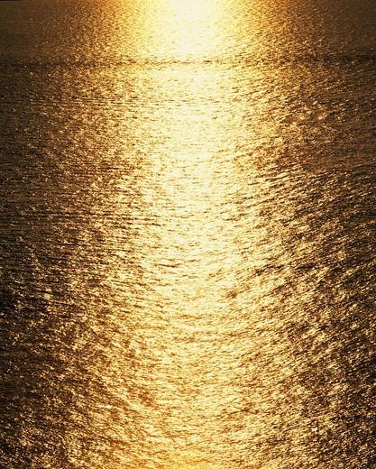 Stock Photo: 4034-67315 Concept Light Orange Morning sun Sea of Japan Yosa Kyoto Japan