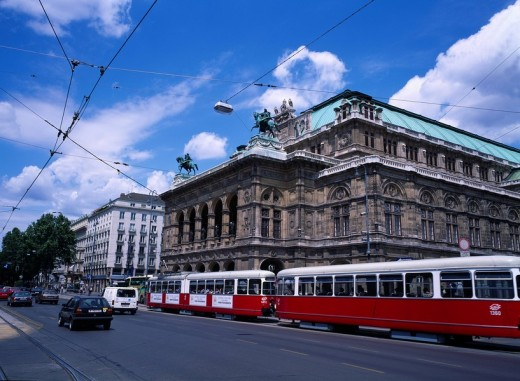 Stock Photo: 4034-67730 A Vienna in the city, Vienna, Austria