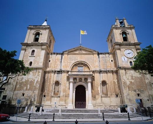 World Heritage, St.John´s Co_Cathedral, Valletta, Malta : Stock Photo