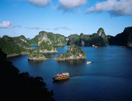 Stock Photo: 4034-69838 Ha Long Bay, Vietnam, World Heritage