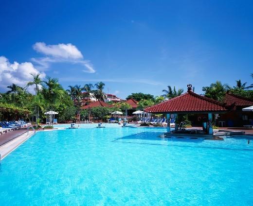 Hotel Putri Bali Nusa Dua area Bali Island Indonesia : Stock Photo