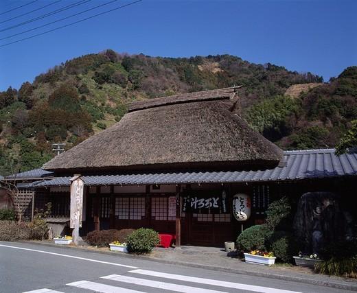 Teijiya, Grated yam tororo soup, Maruko, Shizuoka, Japan : Stock Photo