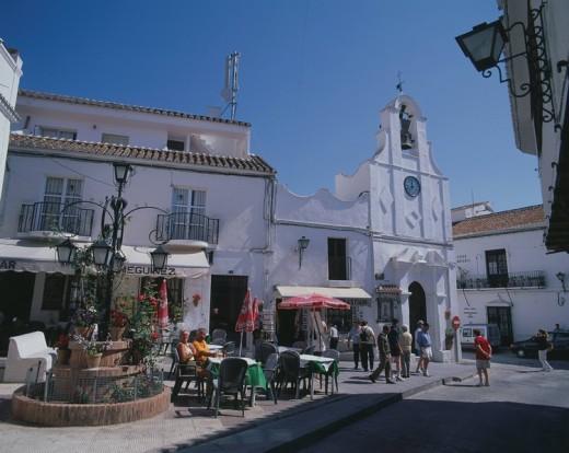 Mijas, Costa del Sol, Andalucia, Spain, June : Stock Photo
