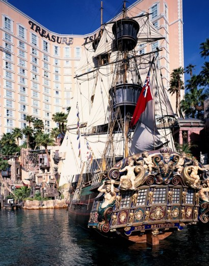 Treasure Island Las Vegas United States of America : Stock Photo