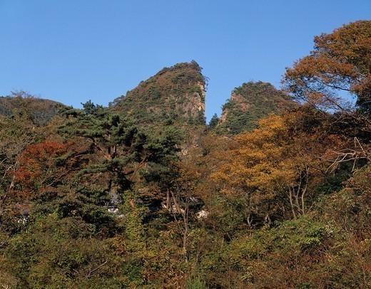 Sado Gold Mine Warito of Doyu Aikawa Niigata Japan : Stock Photo