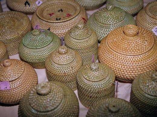 Stock Photo: 4034-78586 Folkcraft Kota Kinabalu Sabah Borneo Malaysia Industry