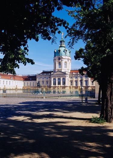 Stock Photo: 4034-79174 Charlottenburg palace, Berlin, Germany