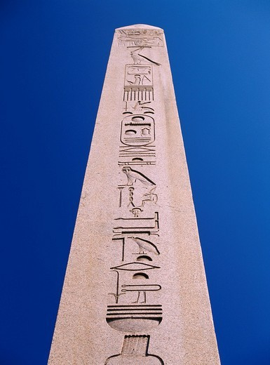 Obelisk of Theodosius, Hippodrome, Istanbul, Turkey : Stock Photo
