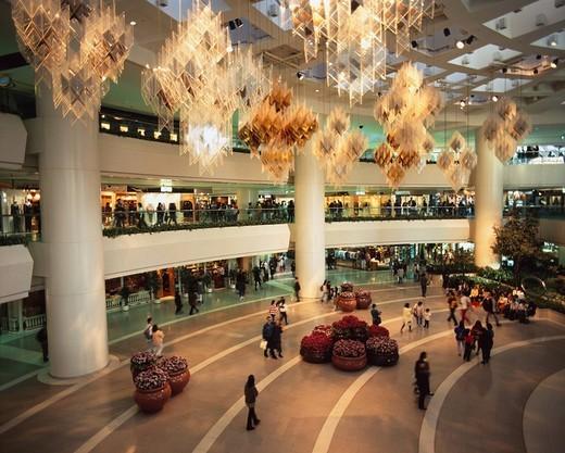 Pacific center Hong Kong island Hong Kong Store Shopper Light : Stock Photo