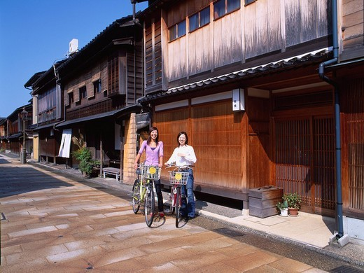 Stock Photo: 4034-8339 MODEL RELEASED Higashichaya town, Female, Kanazawa, Ishikawa, Japan