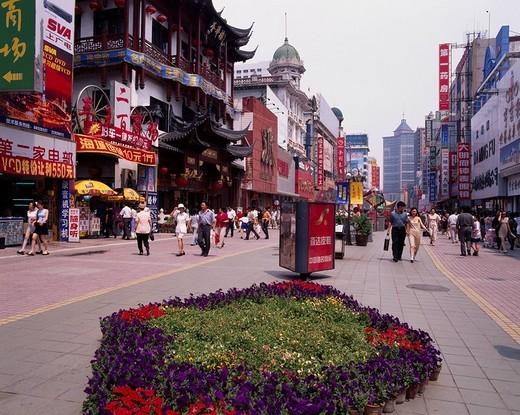 Stock Photo: 4034-85640 Inside town, Shenyang, Liaoning province, China