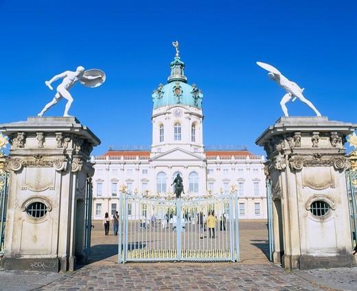Charlottenburg palace, Berlin, Germany : Stock Photo