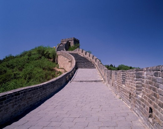 Wanli Chang Cheng Great Wall, BaDaLing, Beijing, China, World Heritage, : Stock Photo
