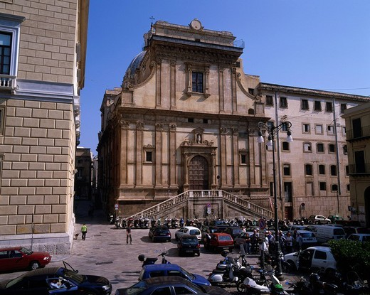 Stock Photo: 4034-89100 Bellini Square, Palermo, Italy