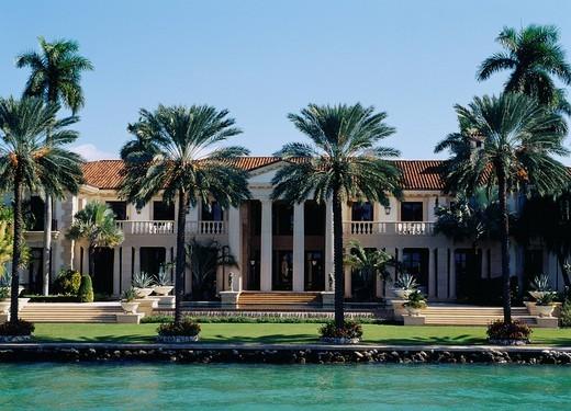 Millionaire Tour, Luxurious domicile tour, Miami, United States, North America : Stock Photo