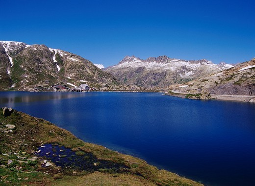 Grimsel Pass, Torowacol, Switzerland, Europe : Stock Photo