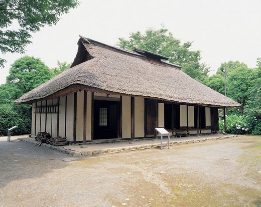 Old Kawachi´s house, Kyodonomori museum, Fuchu, Tokyo, Japan : Stock Photo