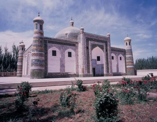 Stock Photo: 4034-92883 Xiangfei tomb, Kashgar, Xinjiang Uygur Autonomous Region, China