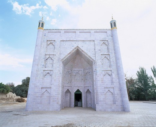 Stock Photo: 4034-92984 Hami King Tomb, the seventh generation king mausoleum, Hami, Xinjiang Uygur Autonomous Region, China