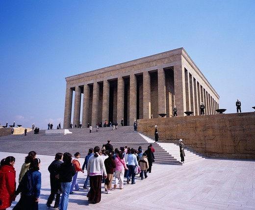 Mausoleum of Ataturk, Ankara, Turkey, Middle Eat : Stock Photo