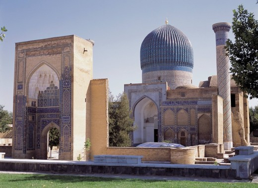 Gur Emir Mausoleum, Samarkand, Uzbekistan : Stock Photo