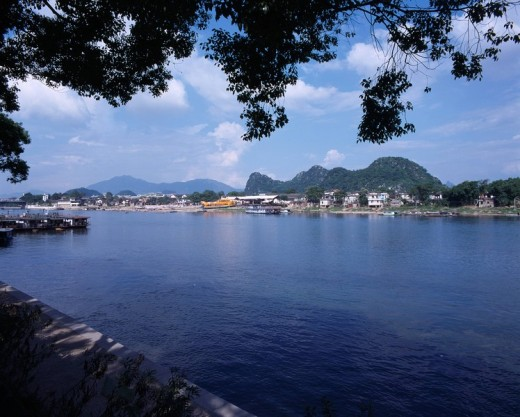 Stock Photo: 4034-9542 Lijian River, Guilin, Guangxi, China