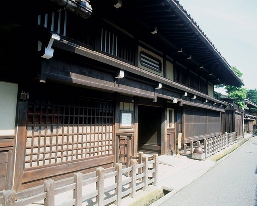 Kusakabe folkcraft Hall, Hida, Gifu, Tokai, Japan : Stock Photo