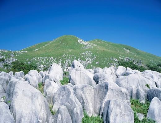 Stock Photo: 4034-99823 Hiraodai, karst tableland, Kitakyushu, Fukuoka, Kyushu, Japan