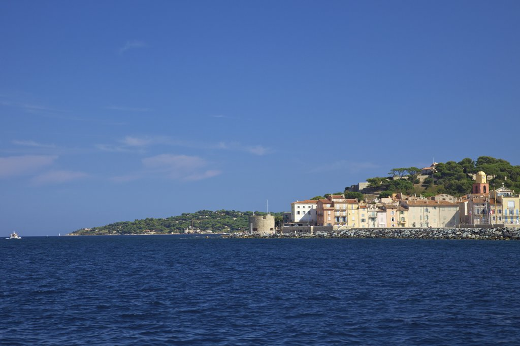 Stock Photo: 4042-1908 France, Provence-Alpes-Cote D'azur, Var, Harbor at Saint-Tropez