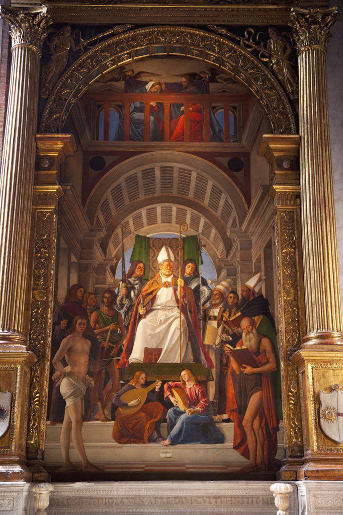 Stock Photo: 4042-844 Italy, Venice, Veneto, Santa Maria Gloriosa dei Frari church, 1503