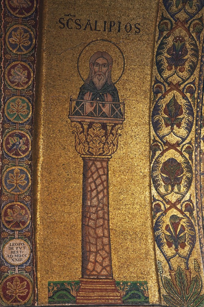 Stock Photo: 4042-848 Italy, Venice, San Marco Square, St. Mark's Cathedral, mosaic