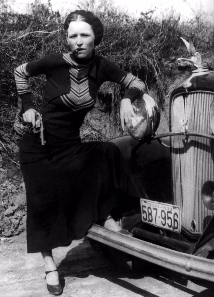 Bonnie Parker, 1933 : Stock Photo