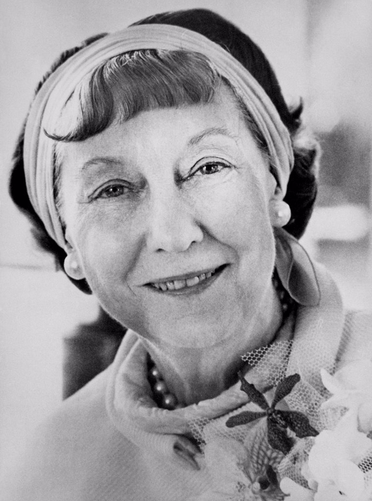 First Lady Mamie Eisenhower. Ca. 1960. : Stock Photo