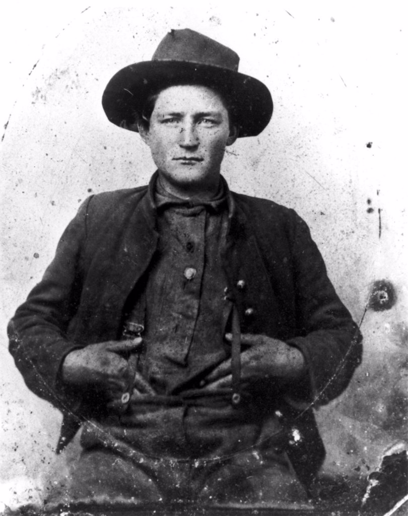 CIVIL WAR- An unidentified man volunteered for soldier during the Civil War. 1861 : Stock Photo