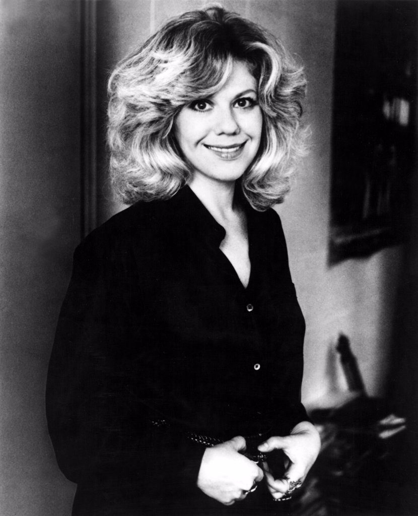 Erica Jong, author, in 1980. : Stock Photo