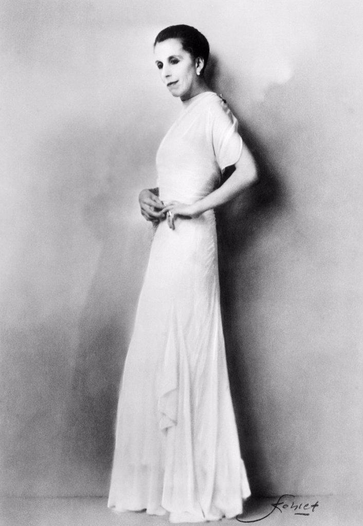 Isak Dinesen, 1934 : Stock Photo